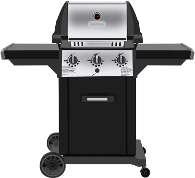 a gas barbeque