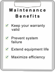list of benefits for furnace maintenance